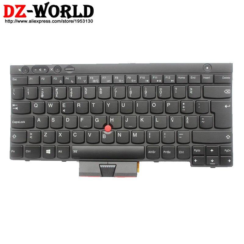 Nouveau Original pour Thinkpad X230 X230i X230T X230 tablette rétro-éclairé clavier portugais rétro-éclairage Teclado 04X1375 04X1262 0C02056