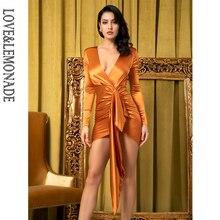 seksowna w pomarańczowa LM81639