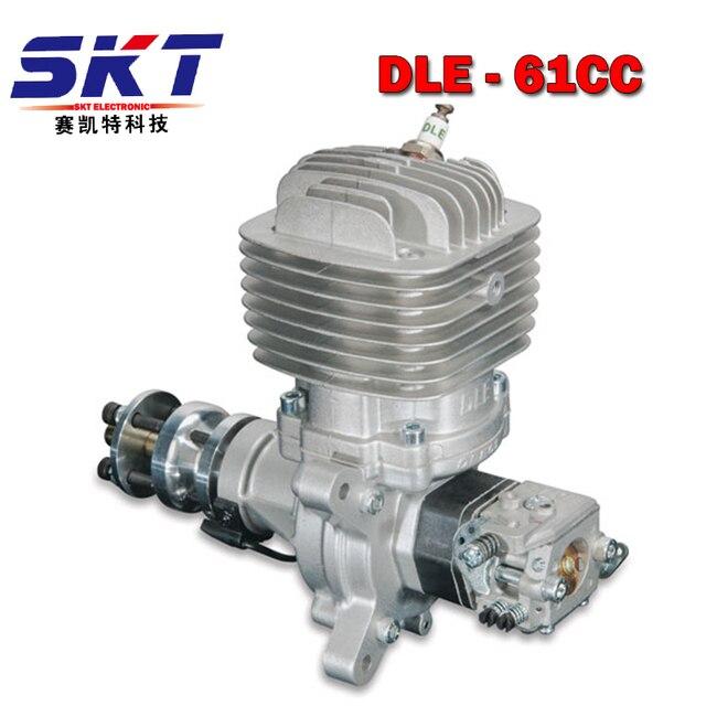 Оригинальный DLE 61CC бензиновый двигатель DLE61 для rc Бензин самолет
