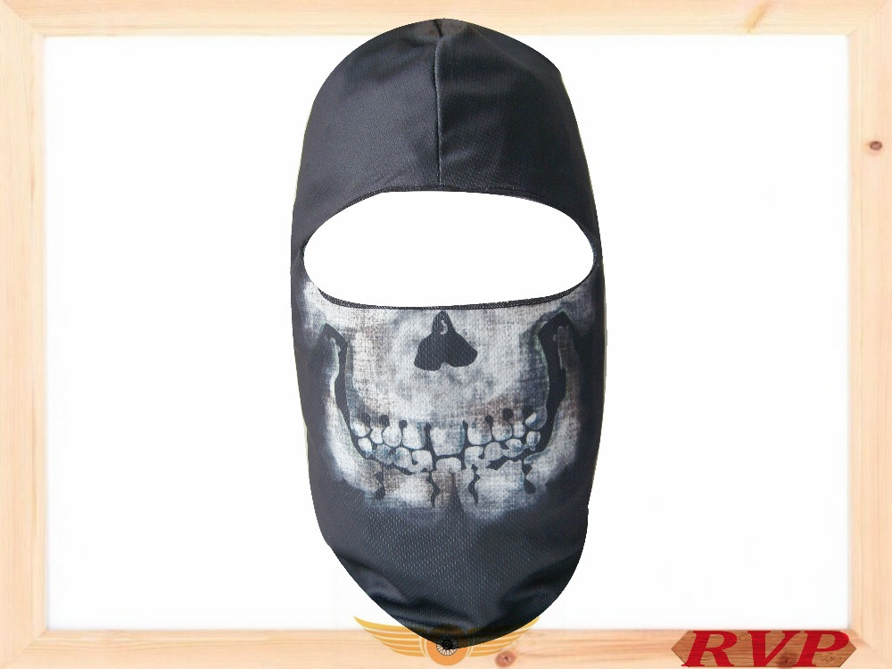 FREE SHIPPING New Paintball Face Mask Outdoor Protector Full Face Mask Windproof Dustproof-Black