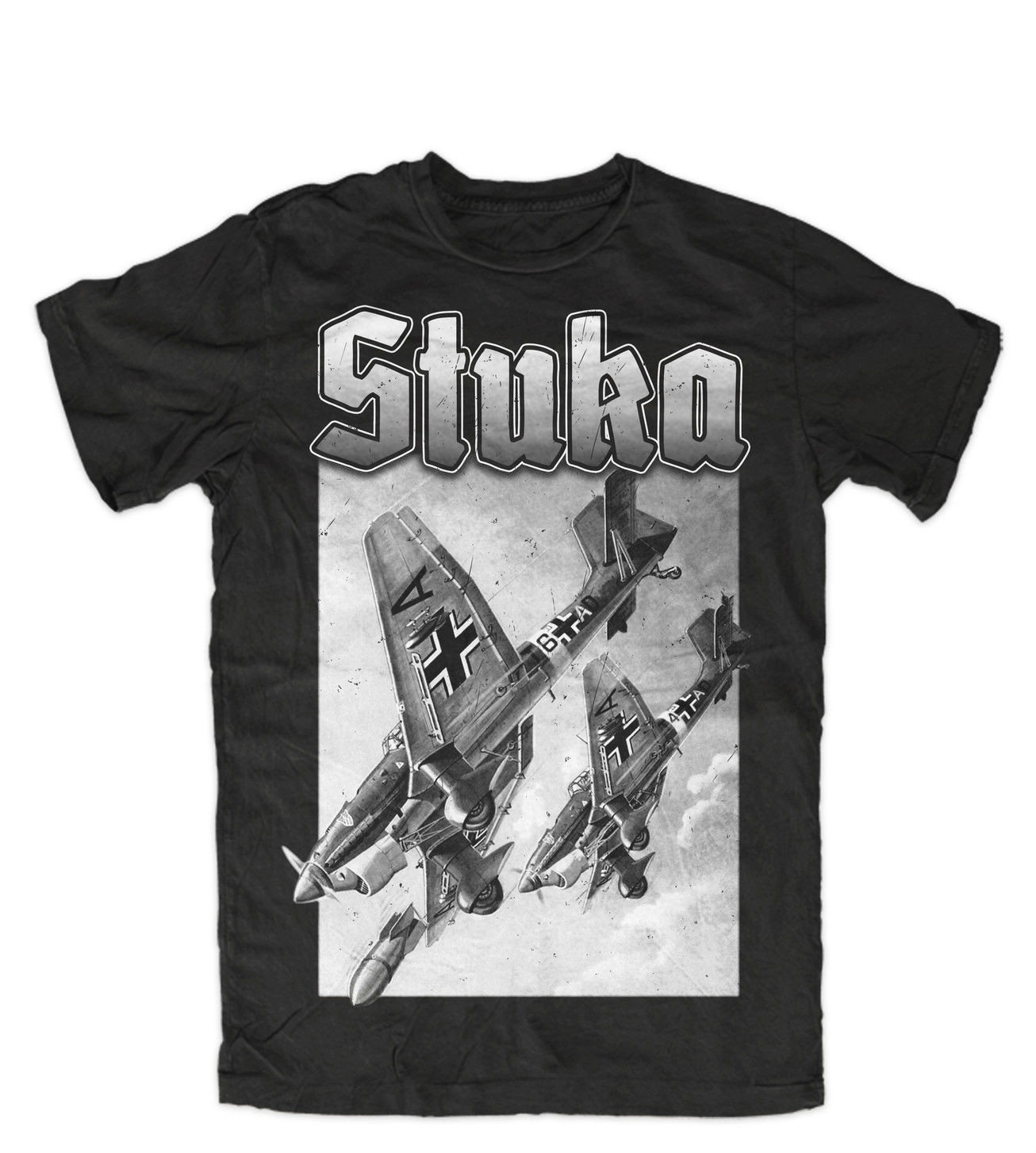 Men T Shirt Stuka Fashion Ww2 Wehrmacht Luftwaffe Legende Deutsches Reich Ehre Luft T Shirt Novelty Tshirt Women Simple