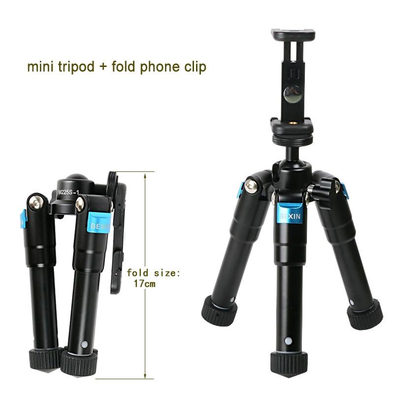 Tripod Tripod kamera profesionale alumini Portable DesktopTable me - Kamera dhe foto - Foto 4