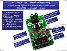 ACS758ECB-200B ACS758ECB-200 ACS758ECB 200B ACS758 0-200A DC current display meter