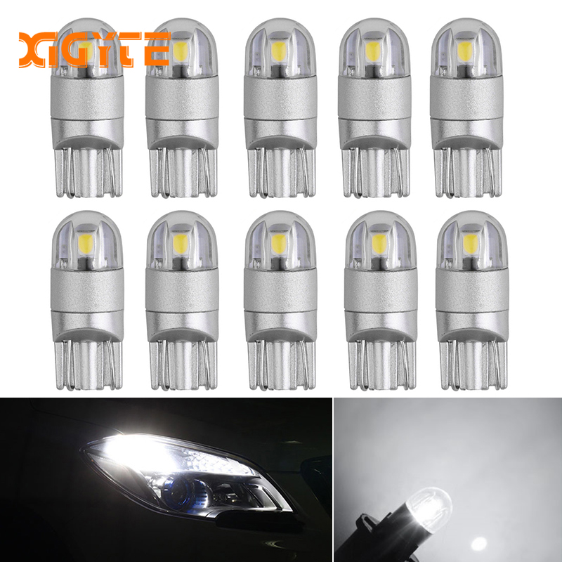10pcs Signal Lamp 3030 T10 Led Car Bulb W5W 194 168 Led T10 Led Lamps For Cars White 5W5 Clearance Backup Reverse Light 12V xiaomi vh fan stylish double blade mute cycle desktop silent fan low noise touch sensor switch and second gear adjustable