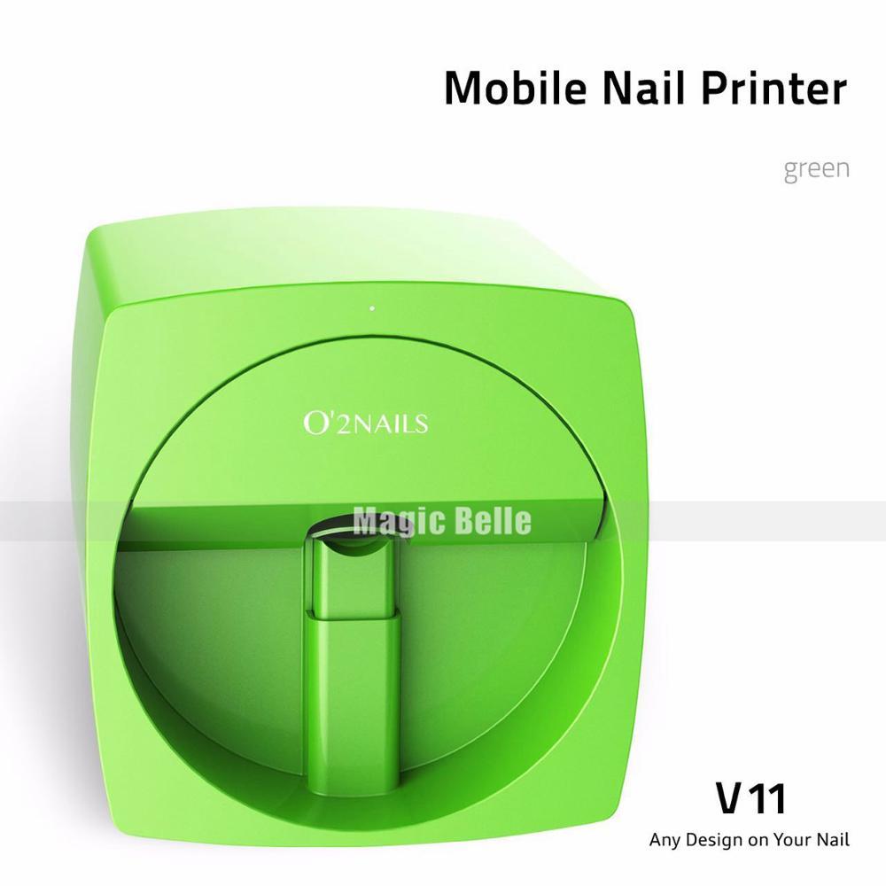 High End DIY Colorful O2Nails Printer Machine Digital Auto Nail Printer High speed printing free shipping 2 years warranty nail printer best selling nail printing machine 2016 new updated