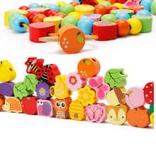 Wooden Beads on Tree with Puzzles for Toddlers & Kids – Educational Toy