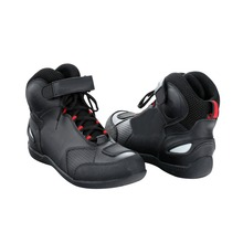 New Men Adult Motorcycle Racing Race Riding Bike Protective Gear Shoes Boots Black US Size 12 [PA311-PA317]