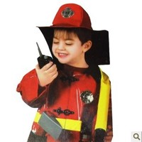 new Cosplay Clothes Fireman Sam Costumes for kids Fancy dress Halloween Party decorations Child performance wear