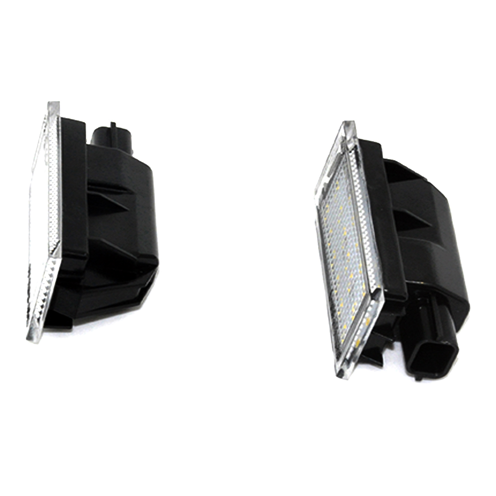 2017 Hot LED License Plate Light Lamp for RENAULT Modus / Grand Modus / Scenic II 5D / Scenic III 5D / ZOE