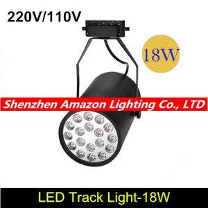 18 Вт Светодиодная дорожка, светодиодная дорожка, прожектор 18 Вт, высокая мощность, прожекторы ming, установленные прожекторы AC 85-265 в
