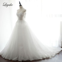 Liyuke Marvelous Tulle Sweetheart A-Line Wedding Dress