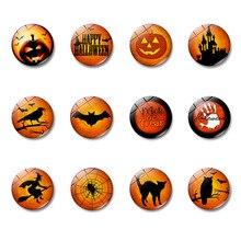 1pc Refrigerator Sticker Home Decor Accessories Kitchen DIY Resin Decorative Pumpkin Animal Creative Magnetic Fridge Magnet