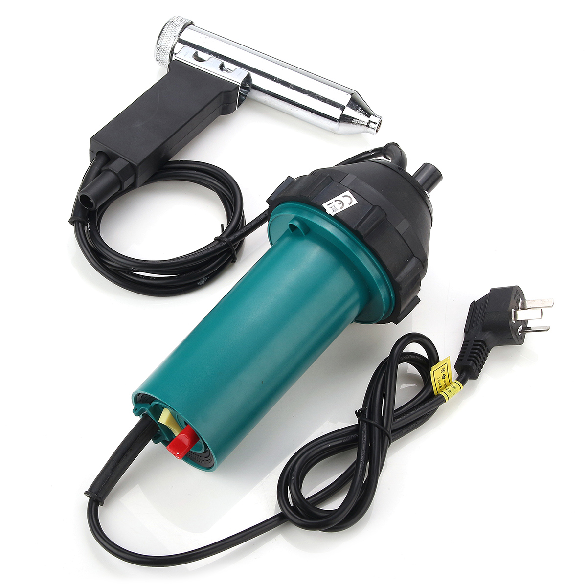 Jiguoor 1080W Plastic Hot Air Welding Plastic Welder Heat Gas Tool 2942PA 40degree-550degree цены