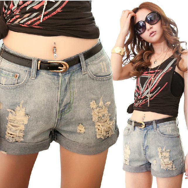 Compare Prices on Knee High Jeans Shorts- Online Shopping/Buy Low ...