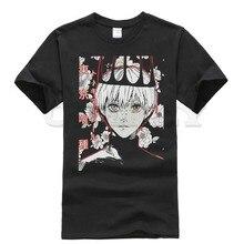 2019 anime short sleeve Tokyo Ghoul Kaneki Ken funny t shirts oggai / Sasaki men tshirts fashions Mens Clothing