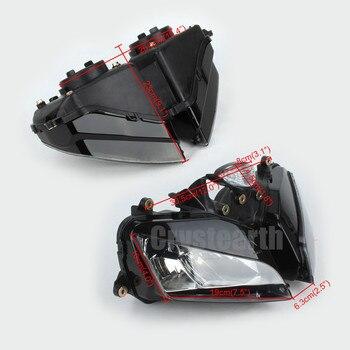 Motosiklet Ön Far Honda CBR600RR F5 2003 2004 2005 2006 CBR 600RR 600 RR 03-06 Far Aydınlatma Lamba Donanımı Kiti