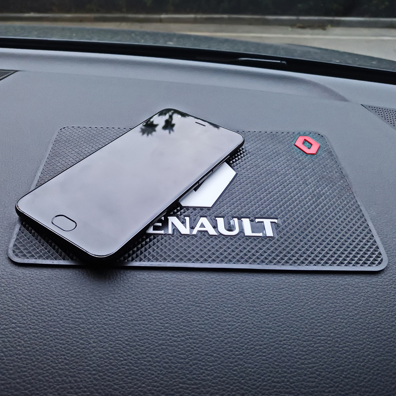 цена на ANTINIYA 1PCS high quality Mat Interior Car phone anti-slip mat For Renault Duster Megane 2 Logan Megane 3 Clio Car-Styling