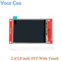 2,4 дюйма 2,8 Цвет на тонкопленочных транзисторах на тонкоплёночных транзисторах ЖК-дисплей Дисплей модуль 240X320 2,4