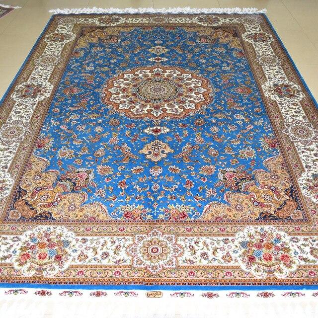 Extrem Mingxin 6x9 pieds bleu fleur grand tapis persan tapis de prière en  DV19
