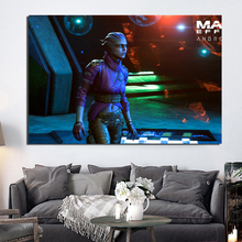 Mass Effect Andromeda Pibi  Canvas Painting Print Bedroom Home Decor Modern Wall Art Oil Poster Salon Picture Framework
