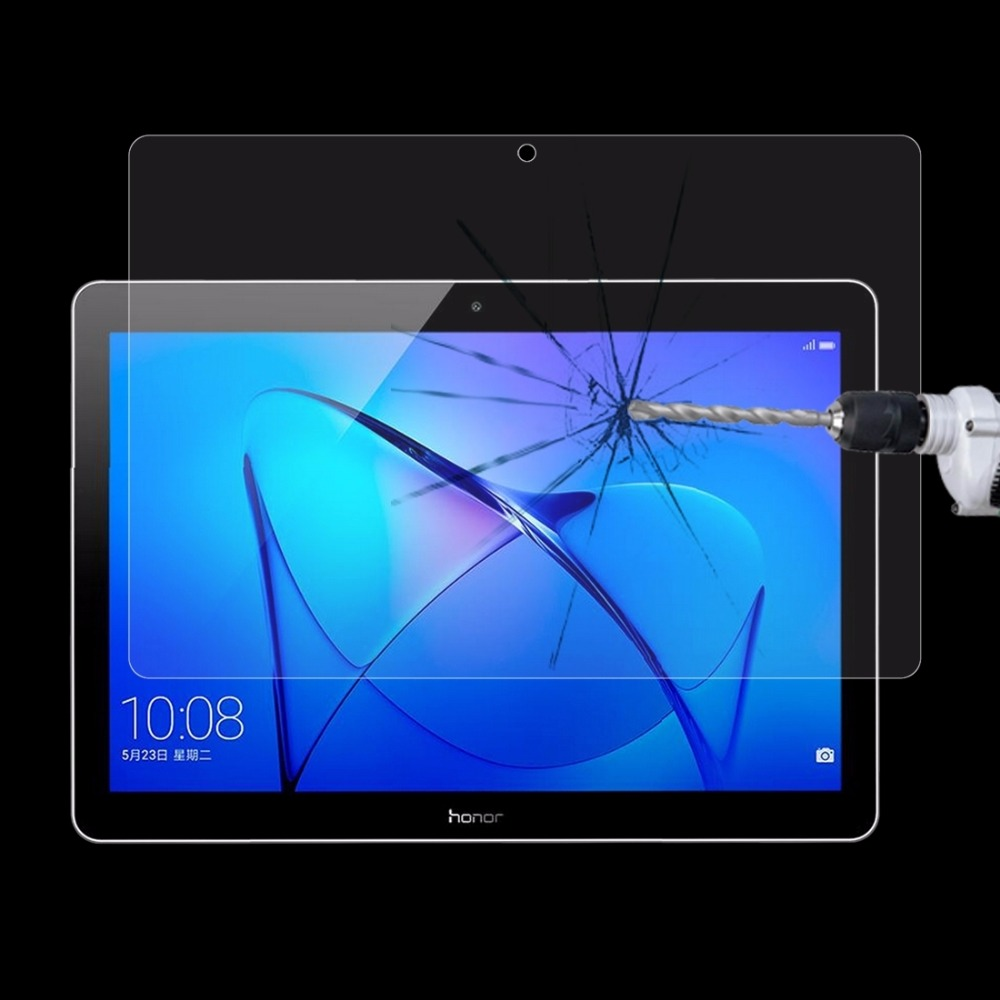 HUAWEI MediaPad T3 10 9 6 inch 0 3mm 9H Surface Hardness Full Screen Tempered Glass