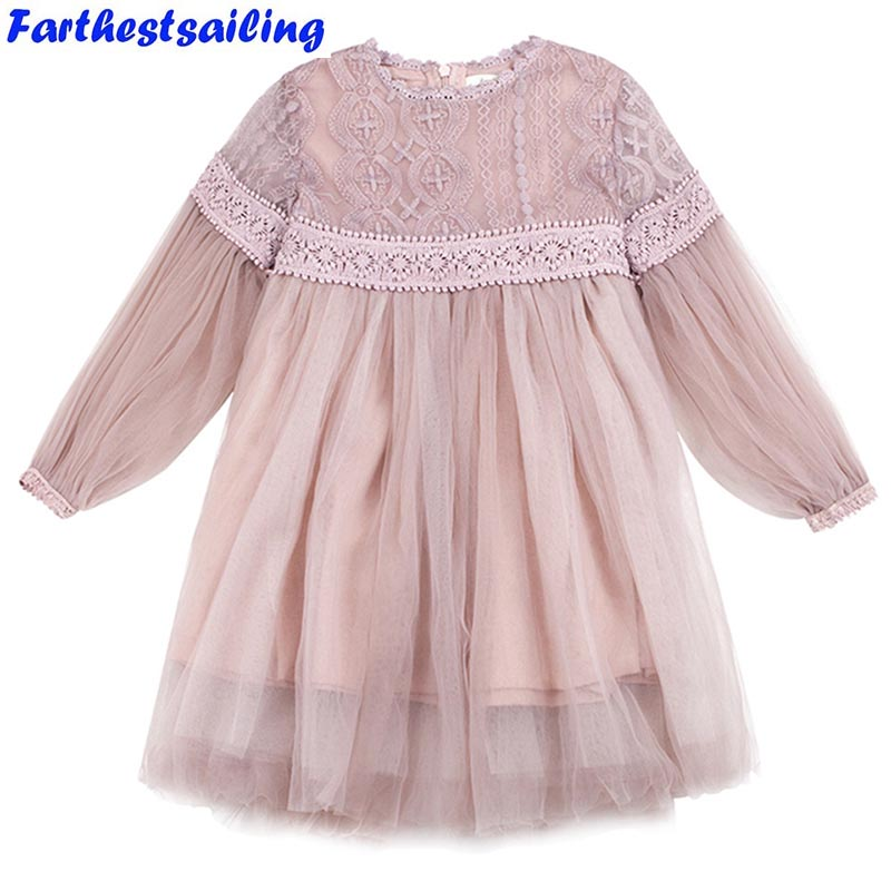 summer dresses for girl lace princess party dresses