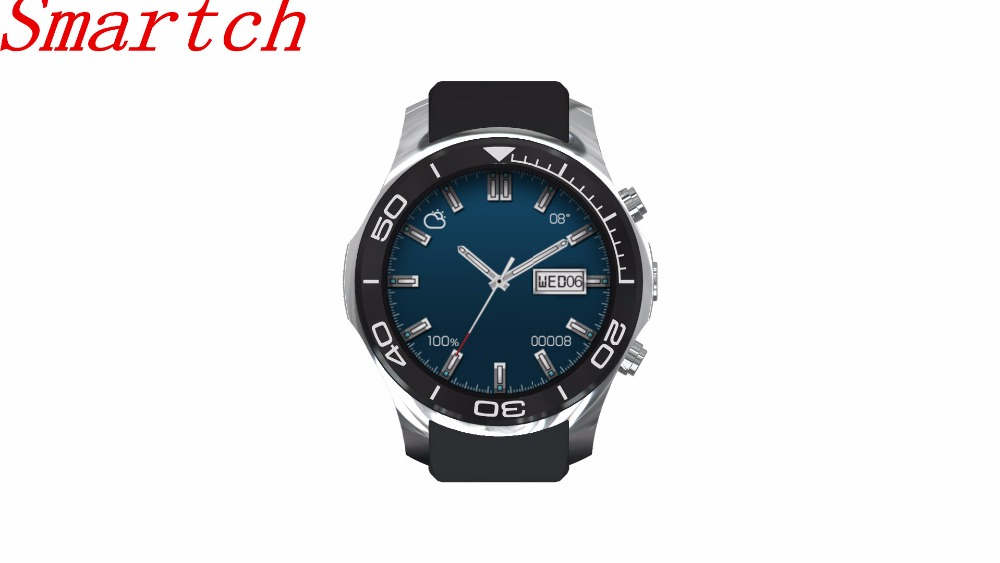 Smartch Android Smart Watch Phone S1 MTK6572 Quad Core Smartwatch Heart Rate Monitor 3G WiFi GPS Watch Phone Support SIM TF Card no 1 d6 1 63 inch 3g smartwatch phone android 5 1 mtk6580 quad core 1 3ghz 1gb ram gps wifi bluetooth 4 0 heart rate monitoring