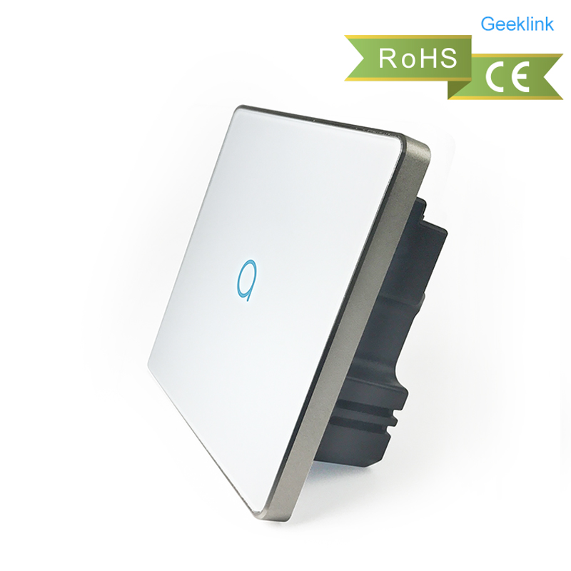 Geeklink Uk 1gang 1 Way Smart Touch Light Switch With
