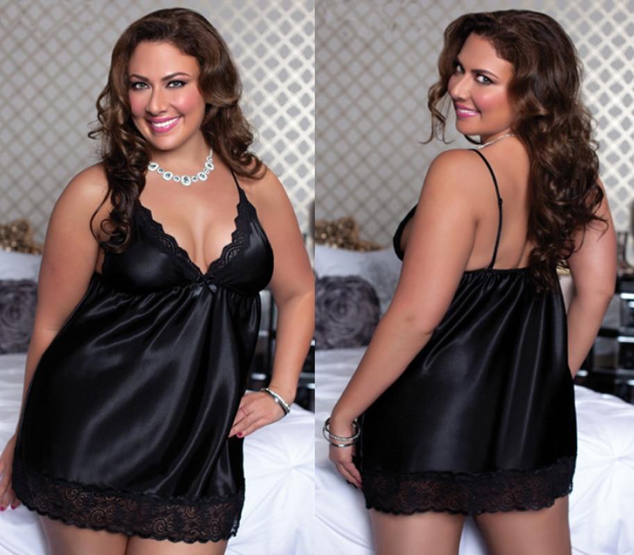 Xxl Mature Fat Wear Dolls Tallas Grandes Lenceria Underwear Sexy Women Plus Size -1720
