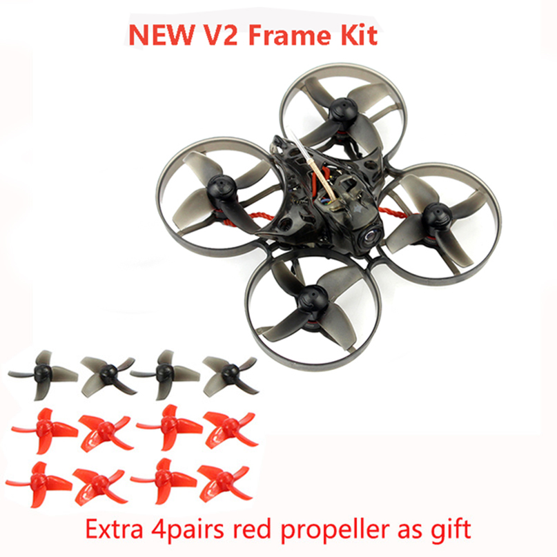 Happymodel Mobula7 75mm Crazybee F3 Pro OSD 2 S Bwhoop FPV Racing Drone Quadcopter w/Mise À Niveau BB2 ESC 700TVL BNF Compatible Frsky