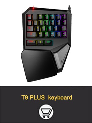 Delux M626 Gaming Mouse Wired Mouse 5000DPI 6600 FPS USB Wired 7 Buttons Mice LED RGB Light  For Game PC Laptop Office