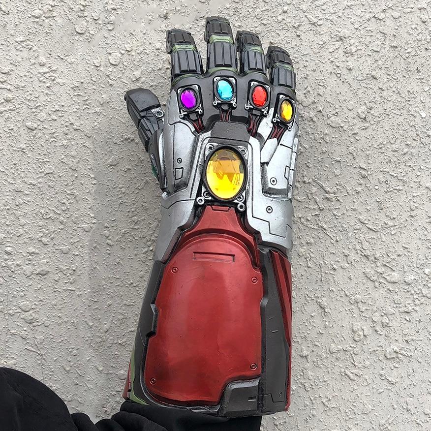 Thanos Infinity Gauntlet Cosplay Avengers Endgame Iron Man Gauntlet Avengers Weapon Tony Stark Armor Costume Accessory Props
