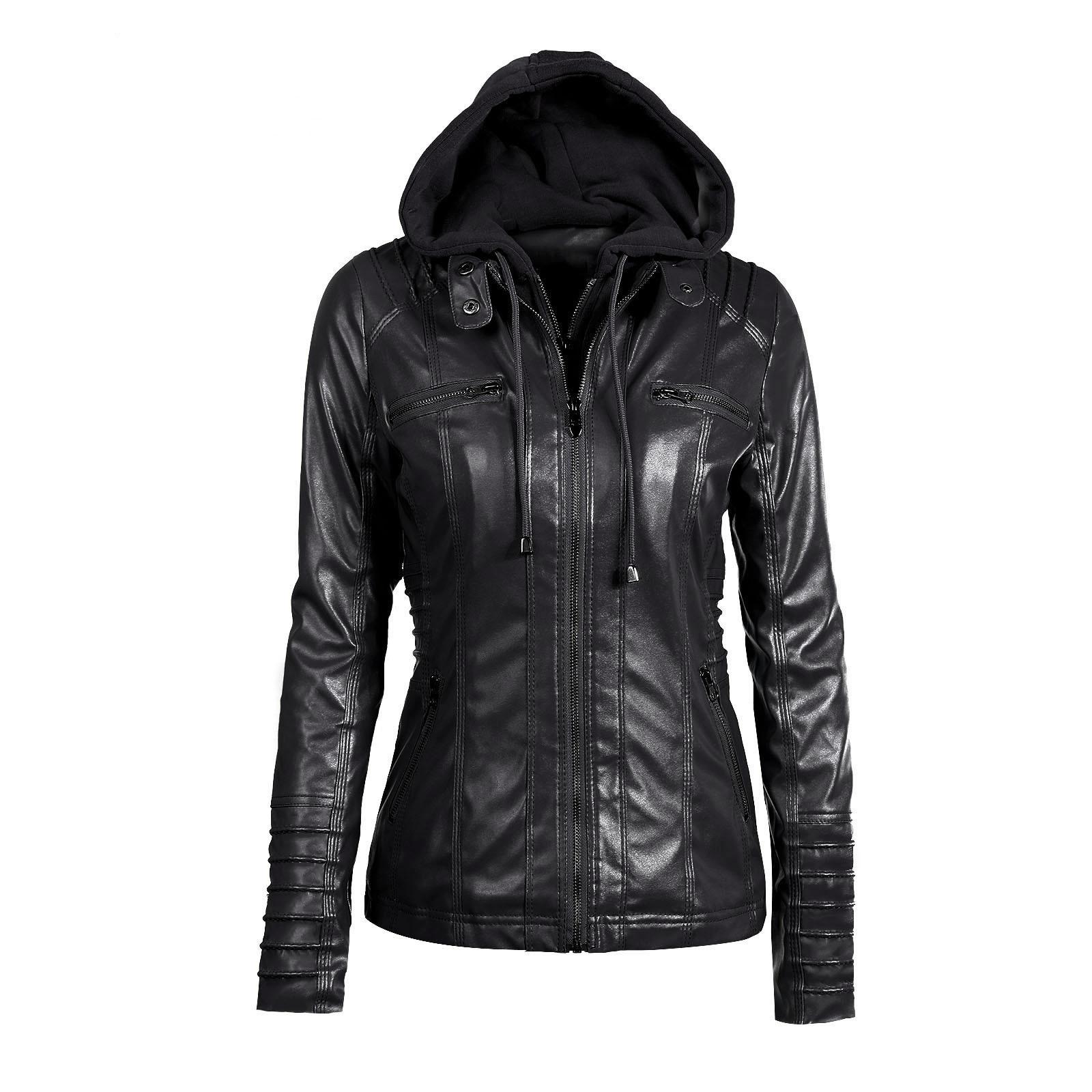 Riverdale Southside Riverdale Serpents black Brown PU Leather Jacket Women Riverdale Serpents Streetwear Leather Brand Coat 18
