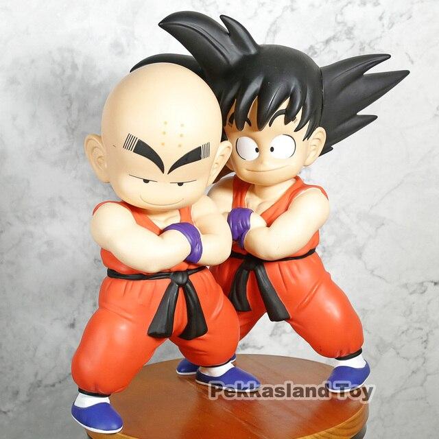 Dragon Ball Z Goku Kuririn Figura de Ação dragonball son goku Kuririn 28 ~ 33 cm PVC Coleção figuras brinquedos para brinquedos de presente