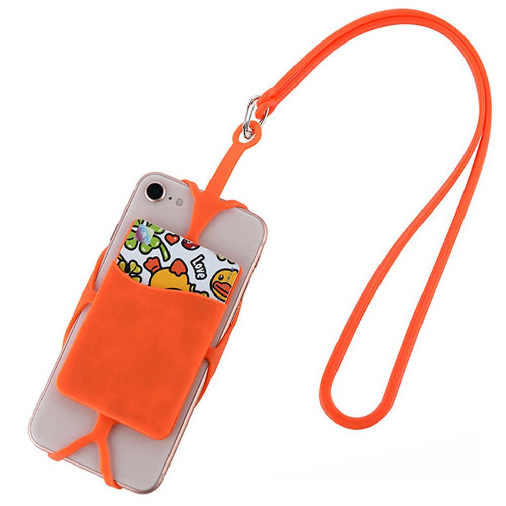 Logicom L-ement 553 Silikon Kauçuk Kart Durumda Cep Telefonu Kabuk Kadın Erkekler Banka kart tutucu Kapak Logicom M Bot 551
