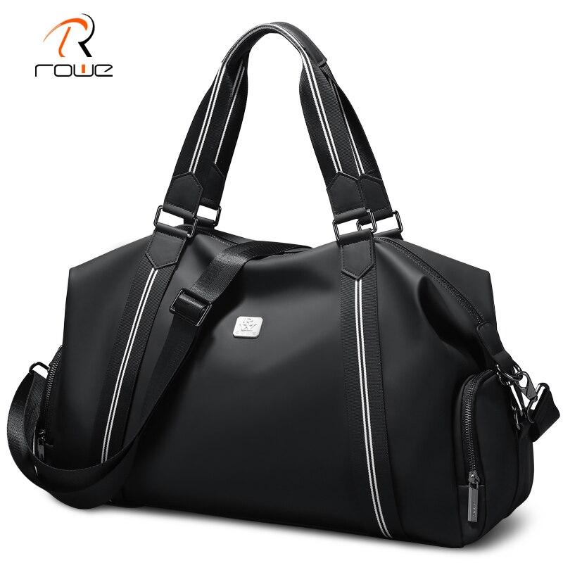 ROWE Travel Bag Men Duffle Bag Large Capacity Weekend Travel Bags Hand Luggage With Shoulder Strap Waterproof