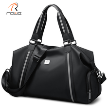 ROWE Travel Bag Men Duffle Large Capacity Weekend Bags Hand Luggage with Shoulder Strap Waterproof