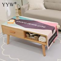 Nordic Cartoon Tablecloth Waterproof Table Cover Rectangle Table Carpet Desk Cloth For Table Manteles Wipe Covers Tablecloths