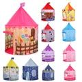 Палатка Детские игрушки для детский бассейн для игры в мяч палатки в форме замка мяч бассейн Детская палатка мяч яма игровой дом дети Enfant ко...