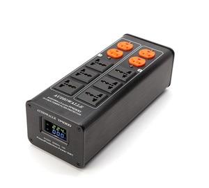 Image 1 - 2020 AUDIOWALLE TP1000 yeni güç arıtma güç filtresi ses fişi LED voltaj göstergesi