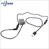 PS BLN1 BLN 1 BLN1 Dummy Battery DC Coupler Plus 5V USB Power Bank Cable For