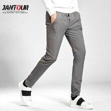 jantour Casual Pants Men Skinny Mens Sweat Male Cotton Sport