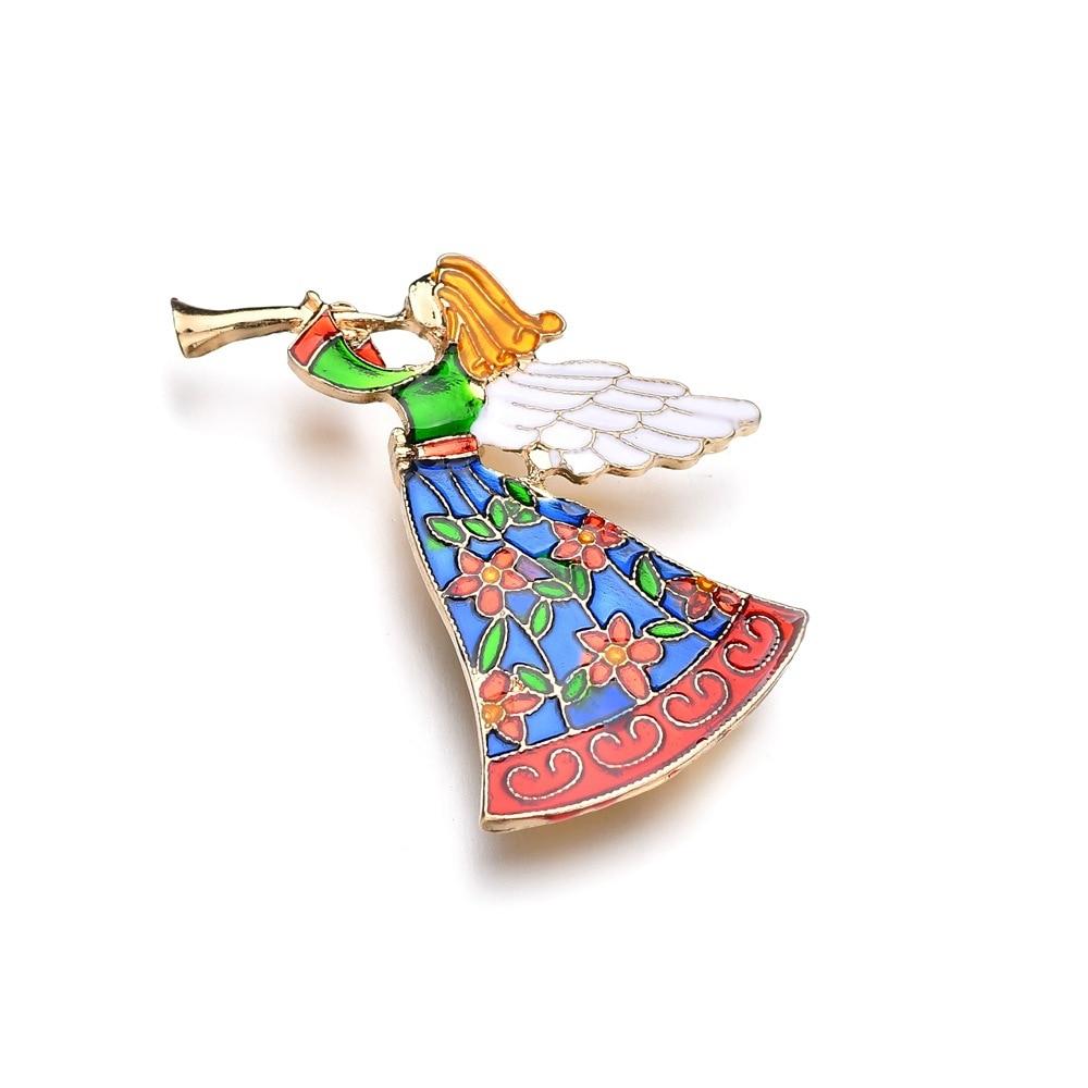 Vintage Angel Pin Signed GCI, Little Child Angel