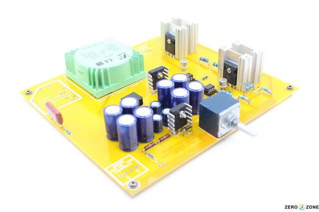 2015 NEW FIHI-STORE ZERO-ZONE Headphone Amplifier kit Clone RudiStor NX03 Amp DIY L159-5