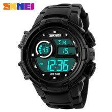 Skmei дизайн профессиональный цифровой спортивные часы военные часы черный 2016