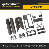 Riderstorm Carbon Fiber Styling Interior Accessories Fit for Range Rover Sport 2014 2015 Rapair Sticker Parts facelift