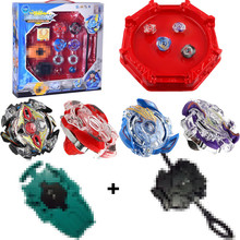 Spinning Top Burst 4D Set Classic Toys With Launcher and Arena Metal Fight Battle Fusion With Original Box For Boy birthday Gift цена в Москве и Питере