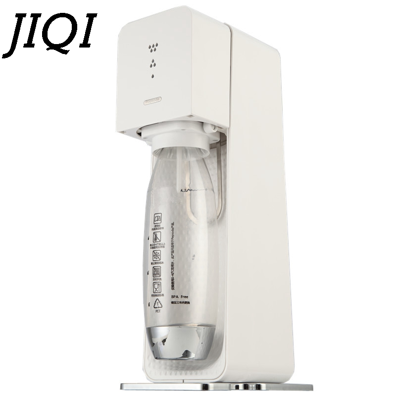 JIQI CO2 Soda Siphon Maker Sodastream WATER Bubble Generator Cool Drink Charger Whipper Commercial DIY Bar