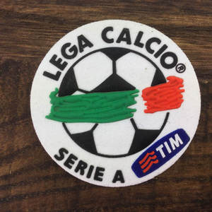 4667ad4654 SexeMara for SERIE A patch TOPPA LEGA badge Italy Soccer patch badge  Cashmere material