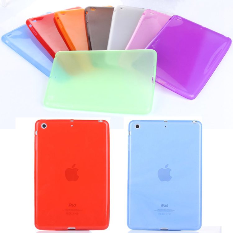 For ipad 5 Cases Soft Clear Silicone TPU Transparent Back Case Cover For Apple iPad Air Tablet Accessories M2C42D tpu tablet back cover case for ipad air 2